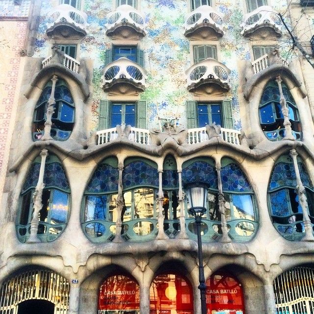 #Barcelona #gaudi #travel #myhouse