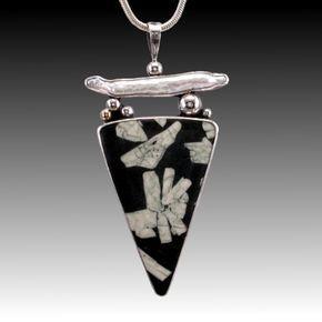 Photo of Hand made stone jewelry, hand made silver jewelry, silver art jewelry