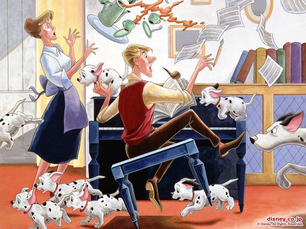 101 Dalmatians Wallpaper Disney 101 Dalmatians Disney Animated Movies 101 Dalmatians