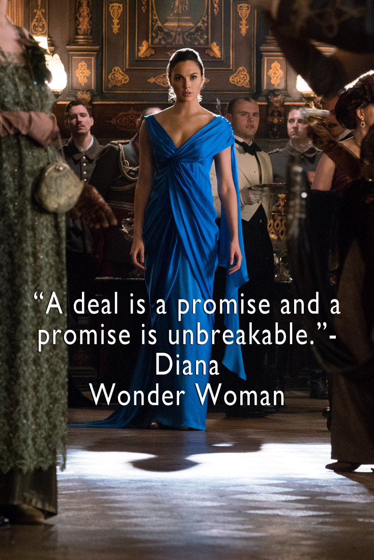 Wonder Woman Quotes 2017