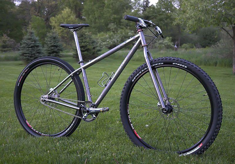 Quiring Rigid Single Speed Ti Single Speed Mountain Bike Single Speed Bike Hardtail Mtb