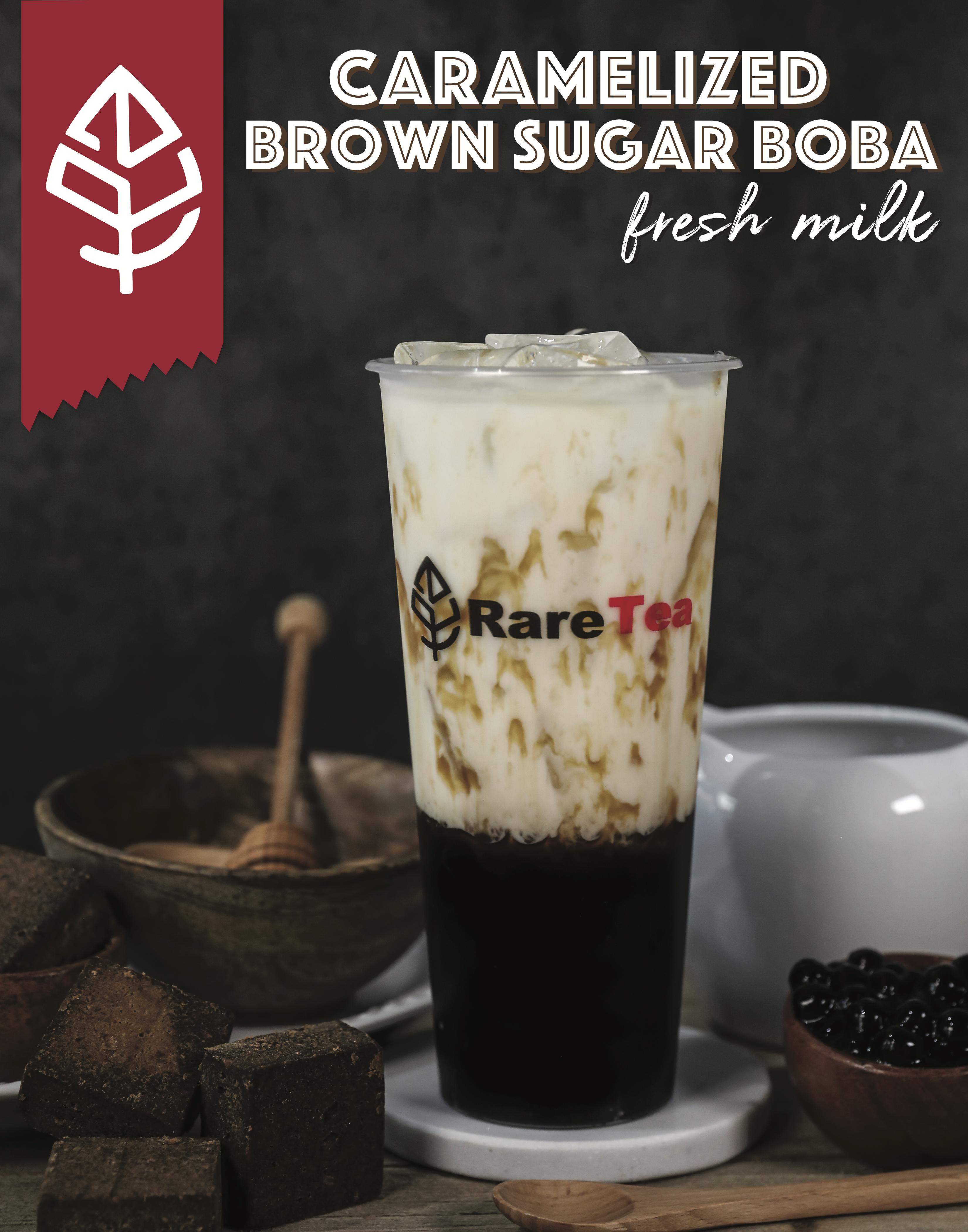 Diy Brown Sugar Boba Fresh Milk Oreo Milk Brown Sugar Fresh Milk