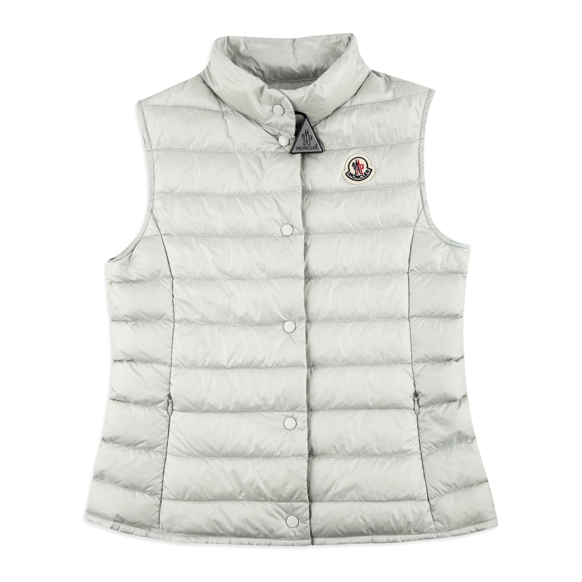 17b7575ca Girls 'Liane' GIlet - Grey | base Moncler SS18 | Moncler, Girls pad ...