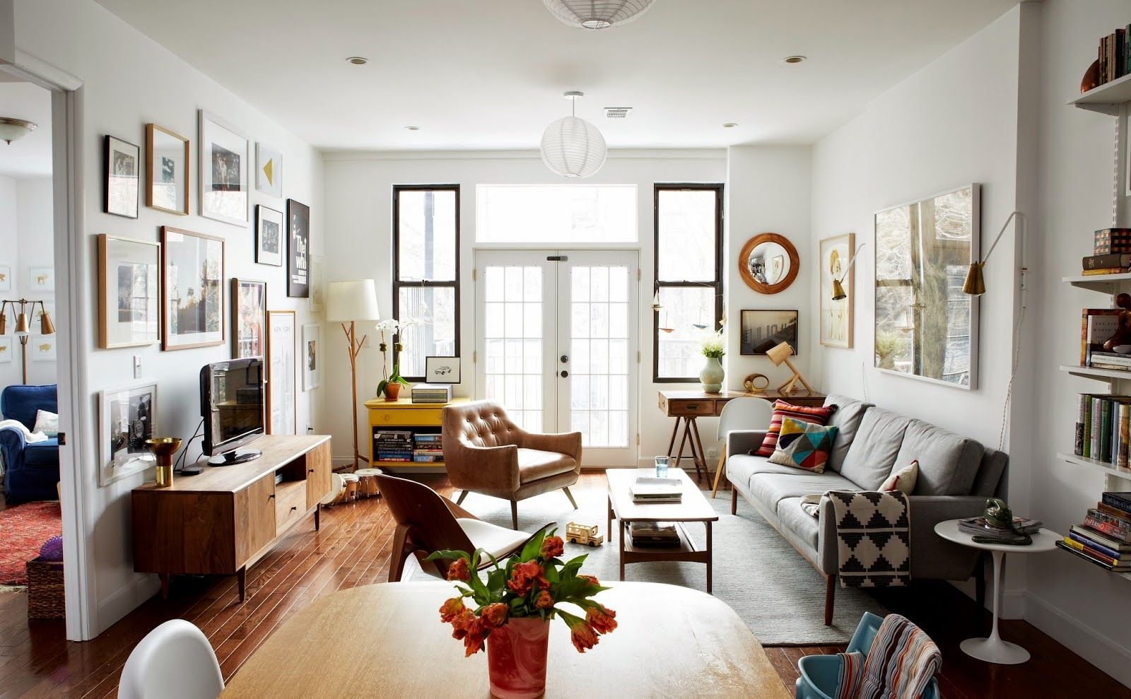 Our Brooklyn Apartment | Pinterest | Apartments, Cups and Living rooms
