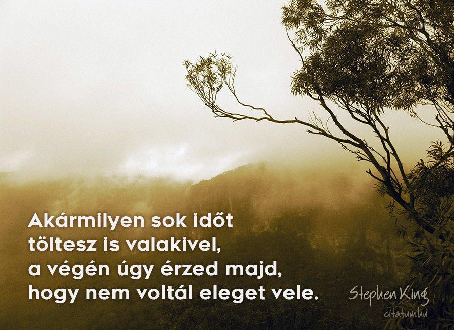 tiszteletről idézetek Stephen King #idézet | Stephen king, Life quotes, Quotations