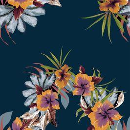 Stripped Flowers Summer
