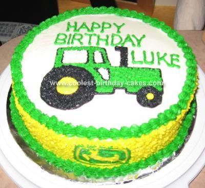 Coolest Tractor Cake Tractor Birthdays and Cake