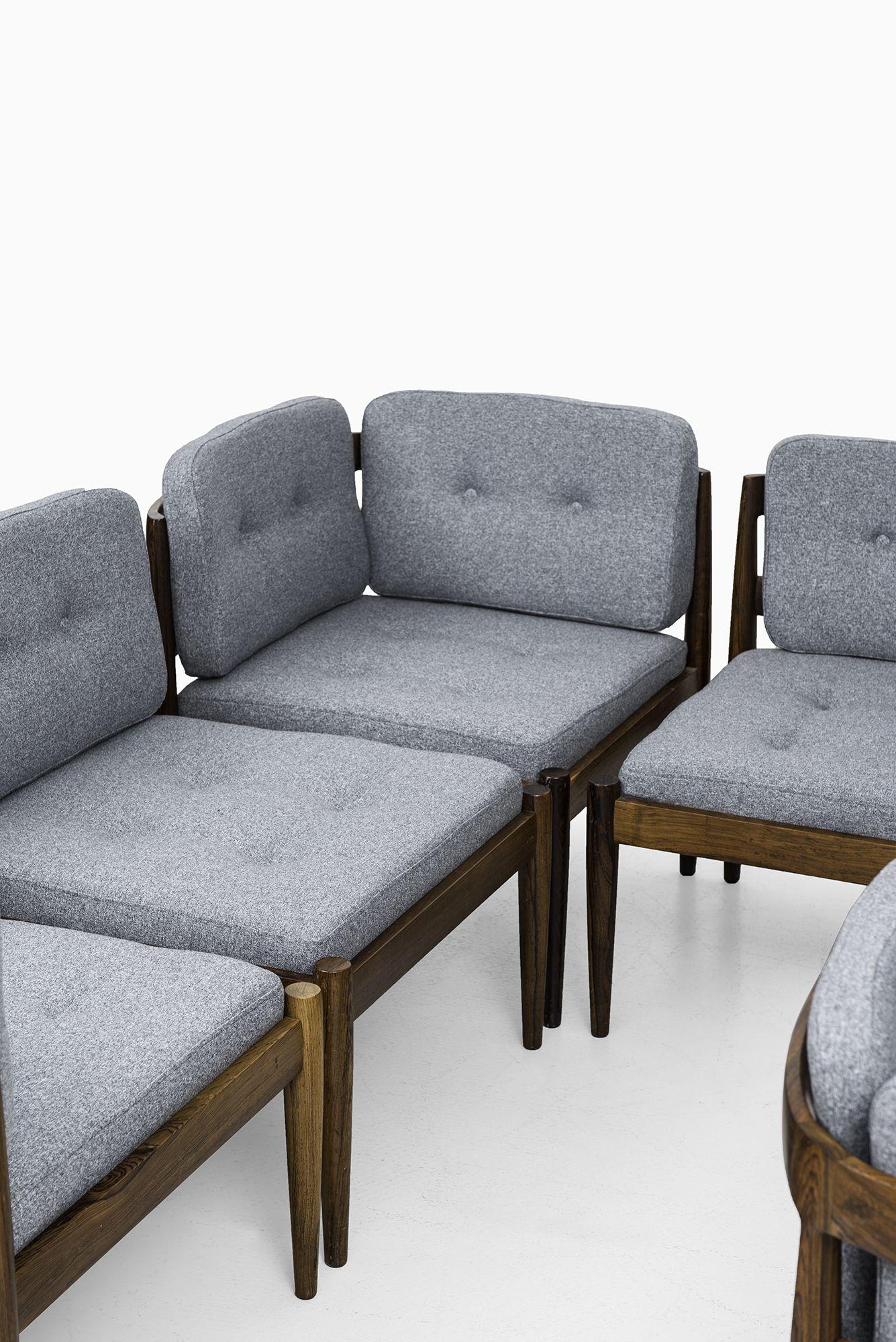 Kai Kristiansen Universe Seating Group At Studio Schalling Seat  # Muebles Gustavo Martin
