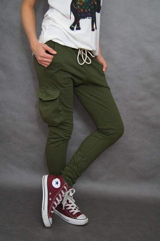 Nowe Dresy Bojowki Khaki Zwezane S Bojowki Damskie Meskie Moro Wosjkowe Casual Fashion Pants
