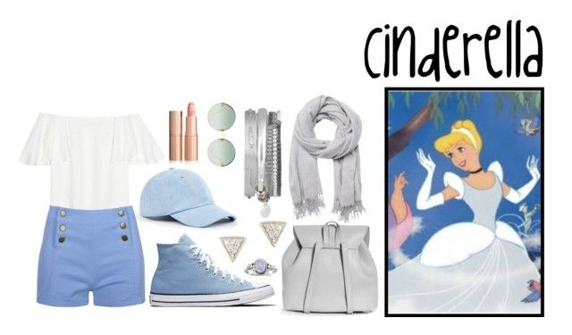 """Cinderella Casual Style"" by tinkerbell06 ❤ liked on Polyvore featuring Valentino, Sole Society, Witchery, Boohoo, Linda Farrow, Adina Reyter and Disney"