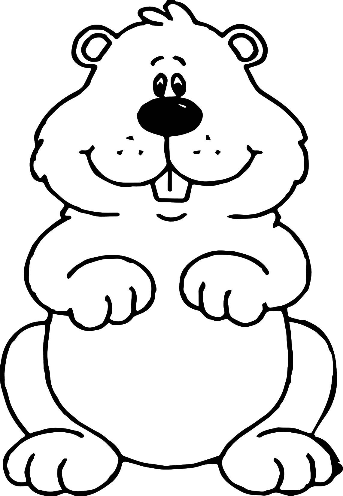 Small Groundhog Coloring Page Wecoloringpage Com In 2021 Coloring Pages Groundhog Day Bible Coloring Pages [ 1652 x 1142 Pixel ]