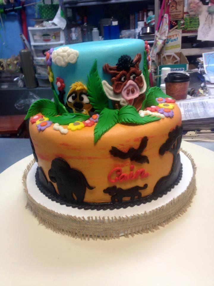Phenomenal Lion King Birthday Cake Adrienne Co Bakery Disney Cakes Funny Birthday Cards Online Alyptdamsfinfo