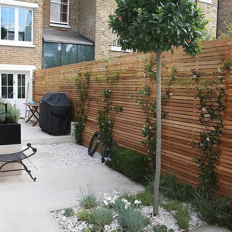 Wood Garden Design find this pin and more on garden Chic Modern Garden Chelsea More