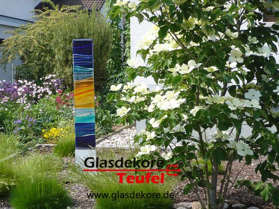 mein schöner garten Glas im Garten Pinterest