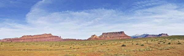 Print of Panoramic view, Scenic Route 128, Utah, USA