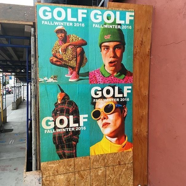 72ef98b830ef pinterest     reflxctor golf wang collection posters  golfwang   tylerthecreator