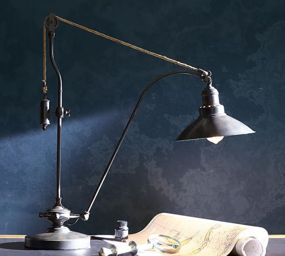 Glendale Pulley Task Table Lamp Want Bedroom Ideas By Kyra Moore