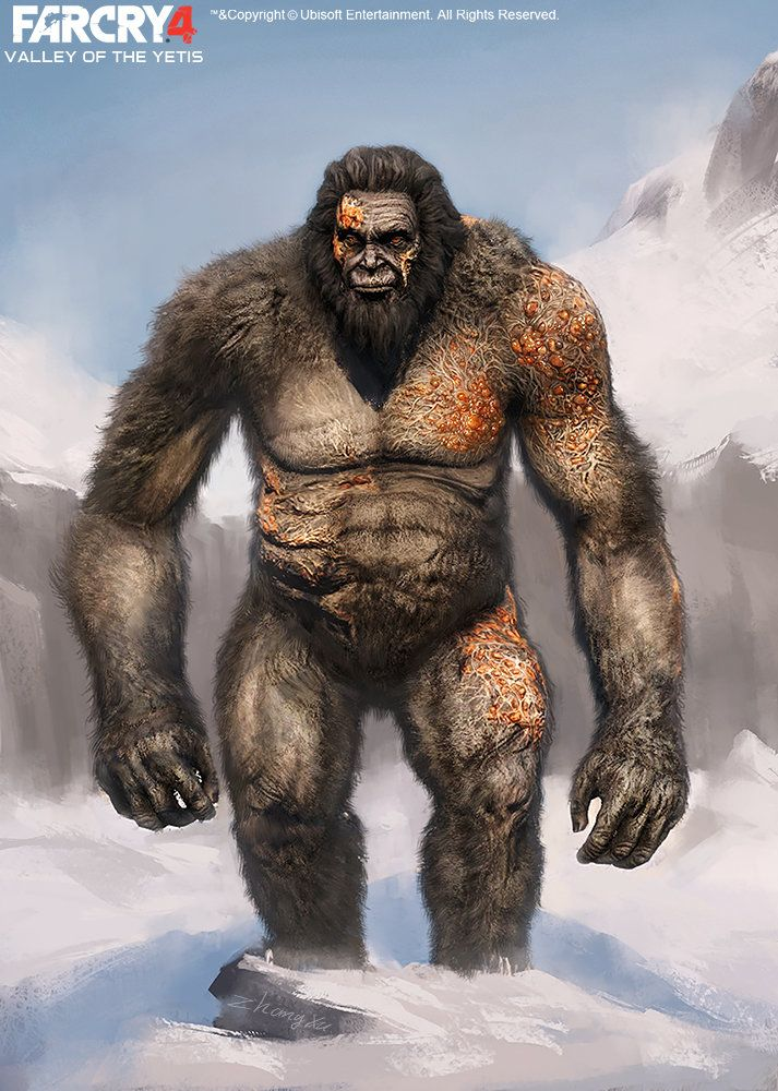 Xu Zhang Far Cry 4 Dlc Valley Of The Yetis Concept Art By Xuzhang