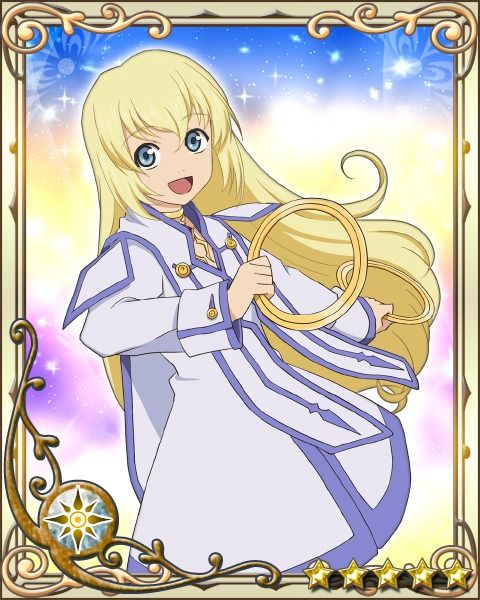 An adorable picture of Colette from Tales of Symphonia~