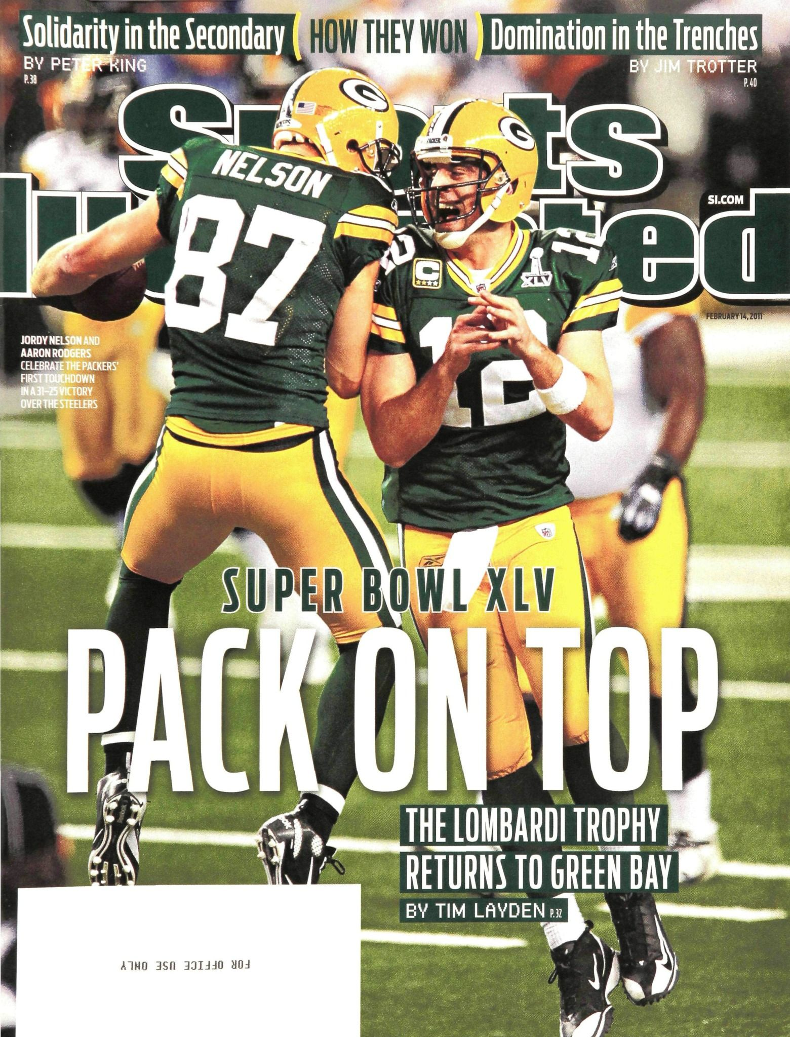Si Feb 14 2011 Green Bay Packers Green Bay Packers Football Green Bay