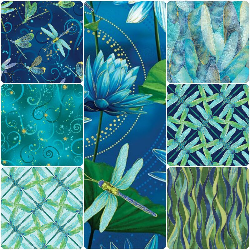 Dance of the Dragonfly Fat Quarter Pack