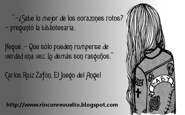 El Juego Del ángel Carlos Ruiz Zafón Frases De Libros