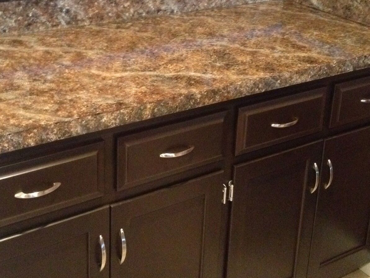 Just used Giani Granite Countertop paint kit! Love this simple ...