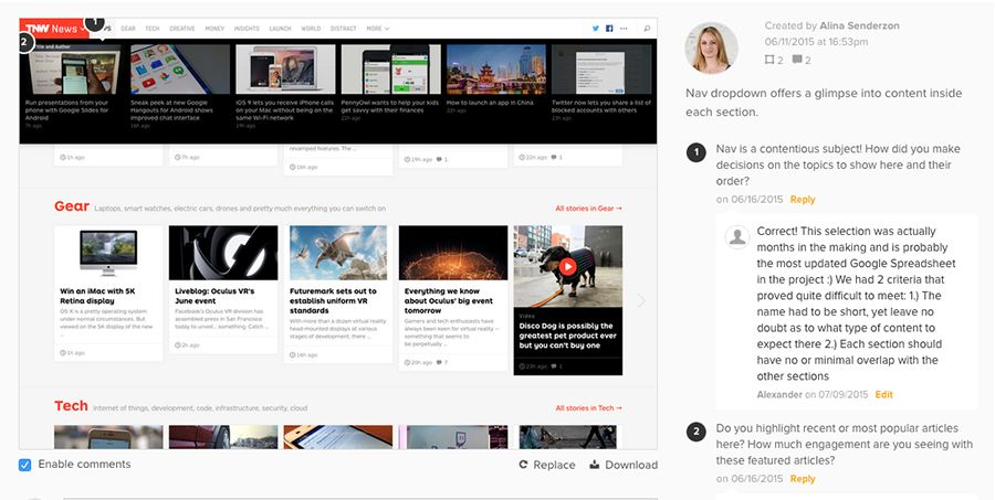 How The Next Web Redesign Puts Content First Articles, The o\u0027jays