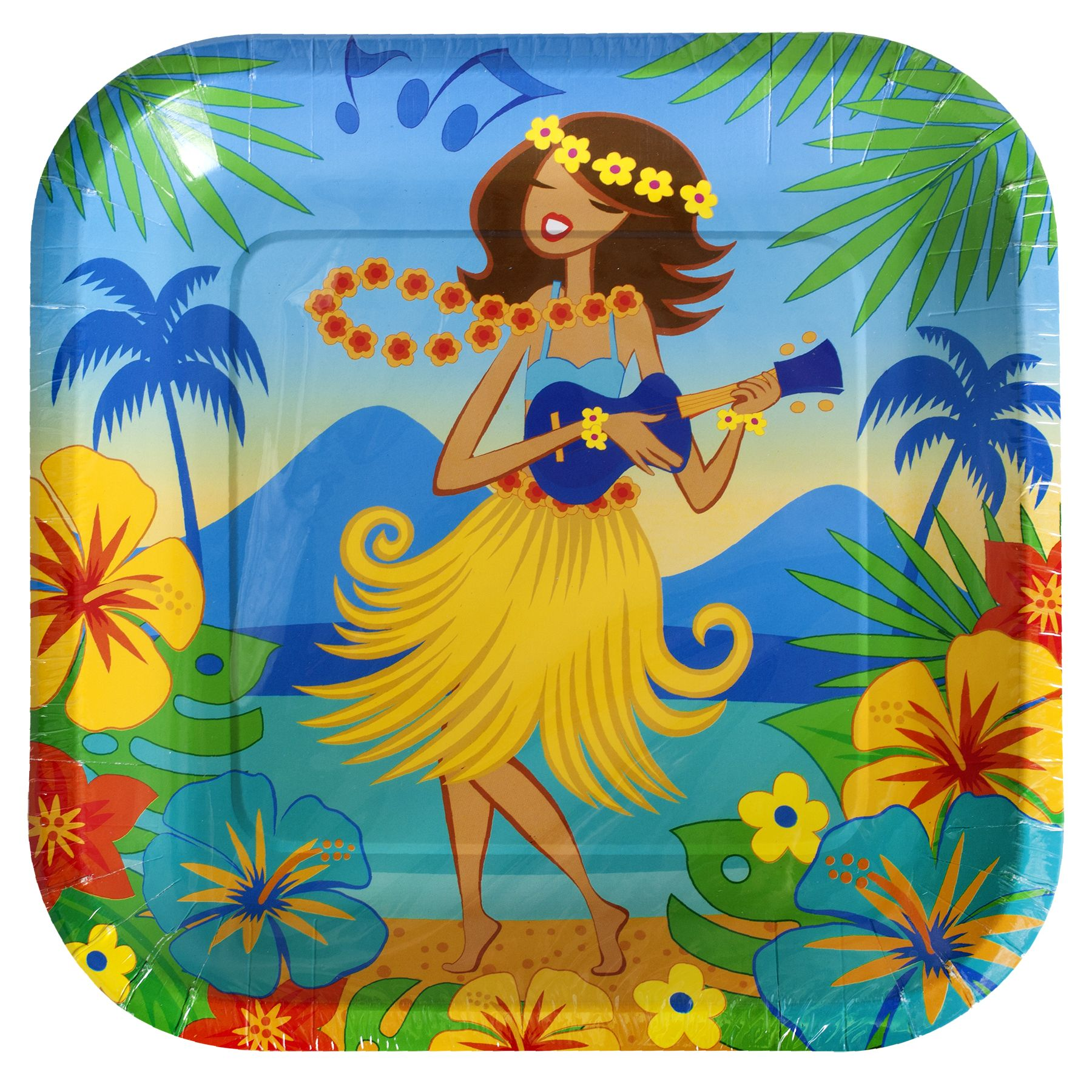 Check out Dollar Tree\u0027s NEW Summer Fun collection of tropical-themed and luau-patterned  sc 1 st  Pinterest & Inc.: Summer Fun Old | Party plates and Luau party