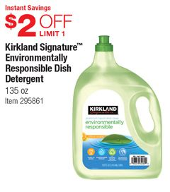 Warehouse Coupon Offers Dish Detergent Kirklands Dish Soap Bottle