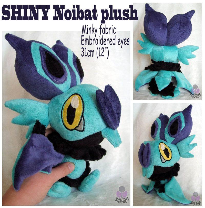 Pokemon Inspired Plush Doll Noibat 30 cm