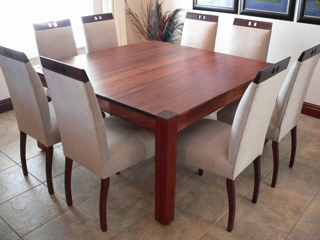38+ 8 seater square dining table and chairs Top