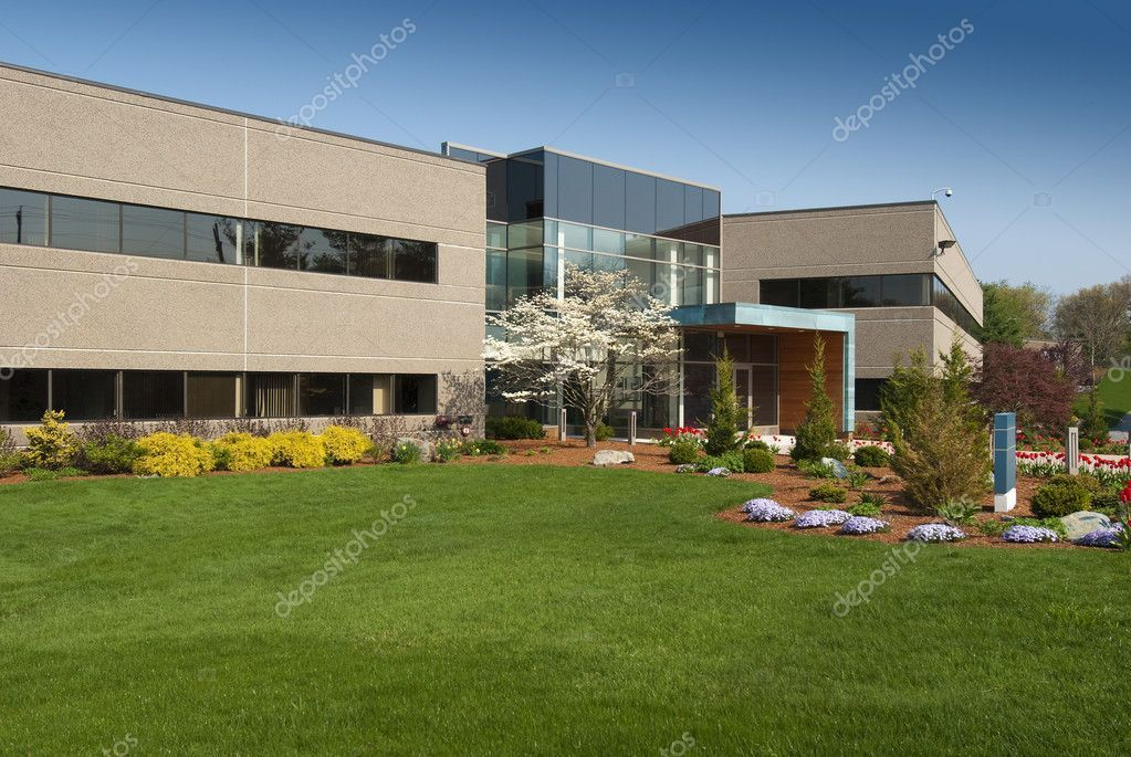 Commercial Building Stock Photo Affiliate Building Commercial Photo S Commercial Landscaping Commercial Landscape Design Landscape Design Services