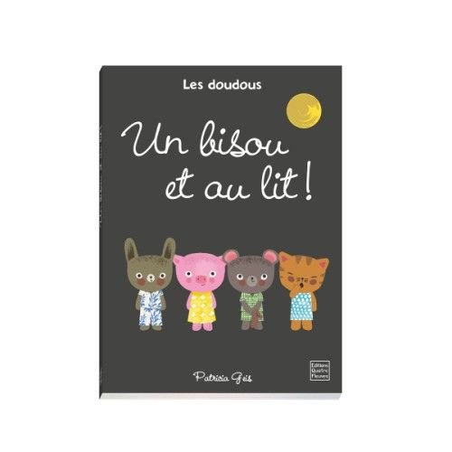 livre un bisou et au lit pour enfant de 2 ans 4 ans. Black Bedroom Furniture Sets. Home Design Ideas