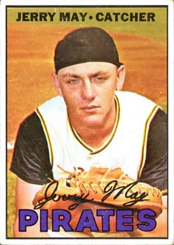 379 - Jerry May DP - Pittsburgh Pirates