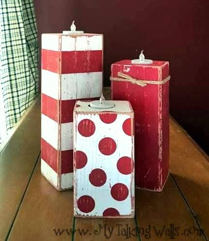 Christmas Crafts To Sell At Bazaar.Pin On Wood Block Chunks
