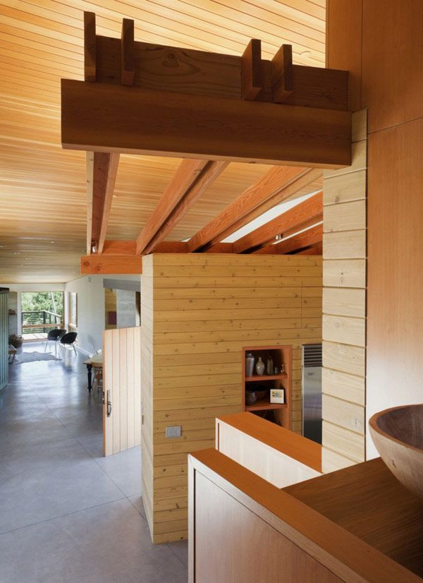 Perfect Architecture, Wooden Elements In Energy Efficient House: Amazing Refined  Interior Showcased Offers Energy  · Santa YnezArchitecture ... Ideas