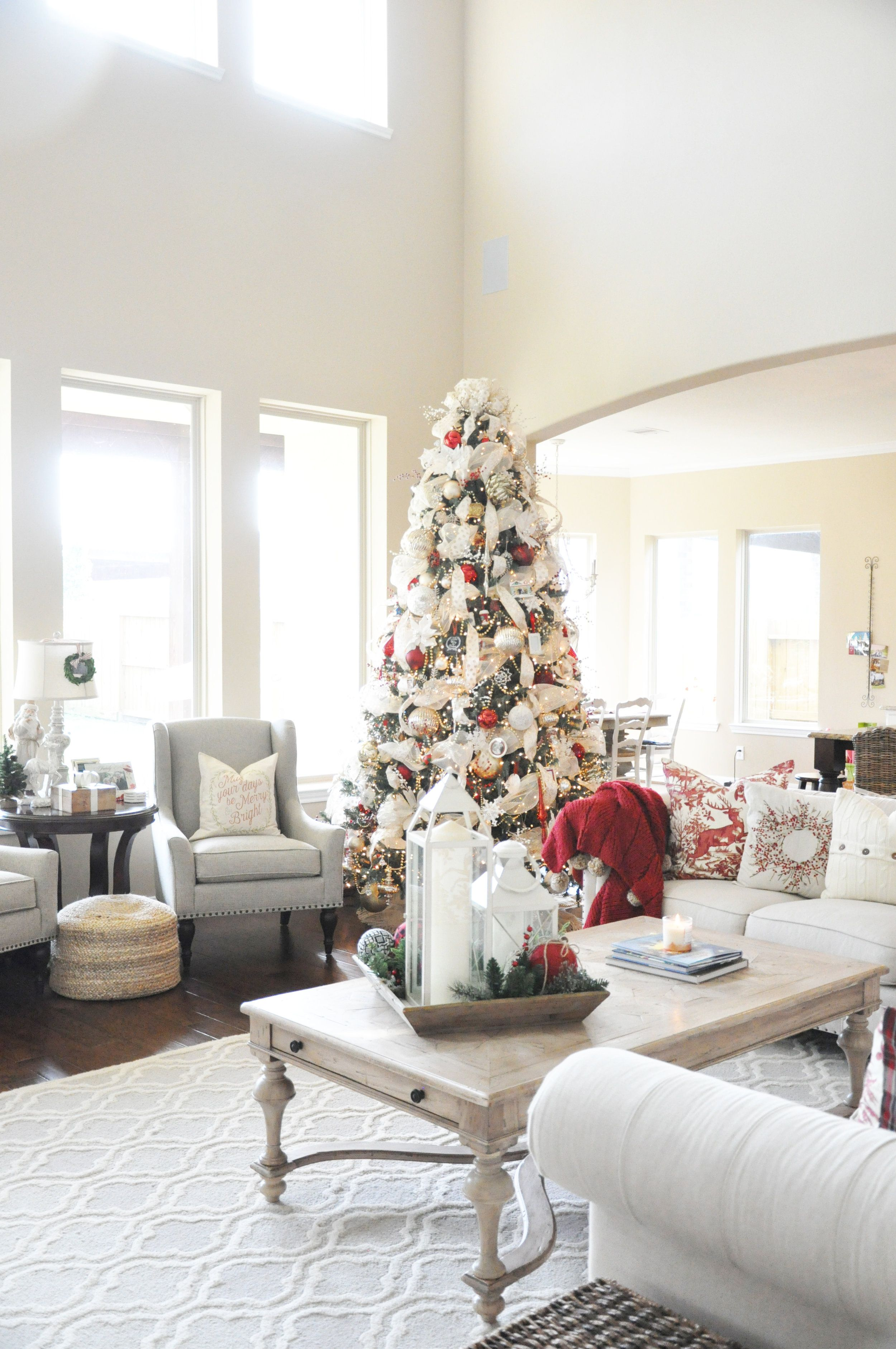 2016 Christmas Home Tour | Decorating, Xmas ideas and Wonderful time