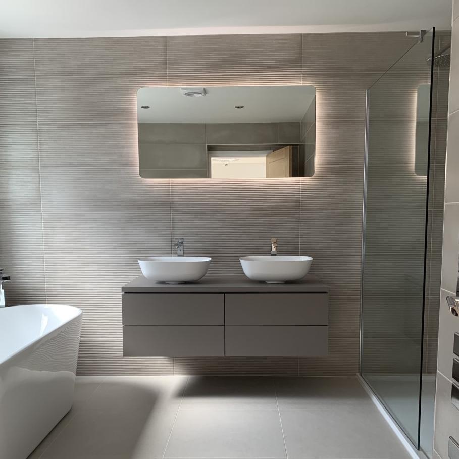 Bathroom Inspiration In 2020 Bathroom Inspiration Residential Tile Bathroom Design
