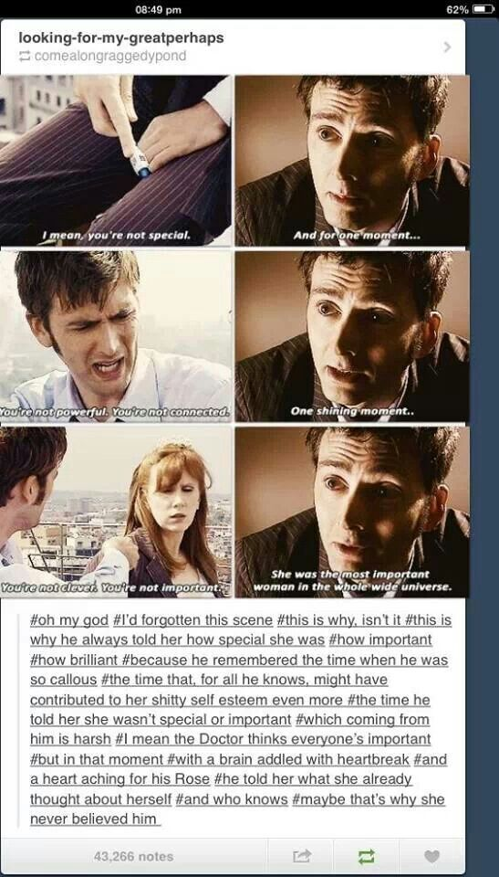 So so so horribly sad!!  :( ~Doctor who
