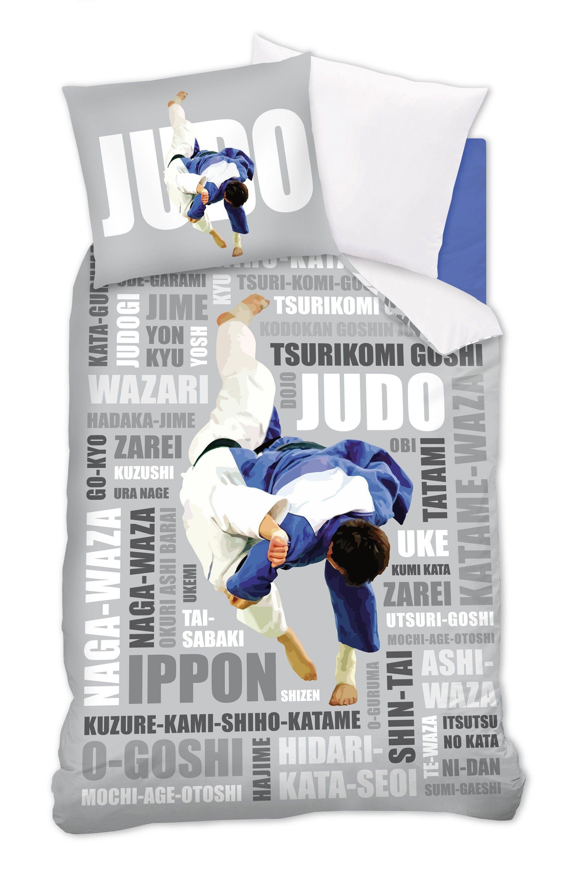 Dekbedovertrek Judo