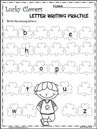 St Patrick S Day Lowercase Letters Worksheet Madebyteachers Kindergarten Letters Alphabet Kindergarten Kindergarten Worksheets