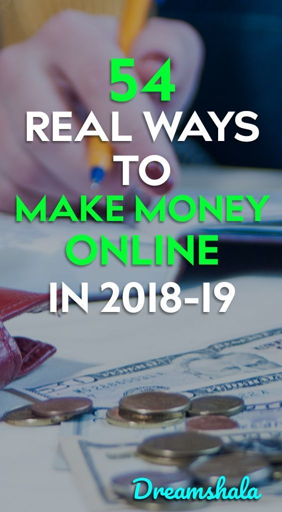 54 Real Ways To Make Extra Money in 2020 - Dreamshala