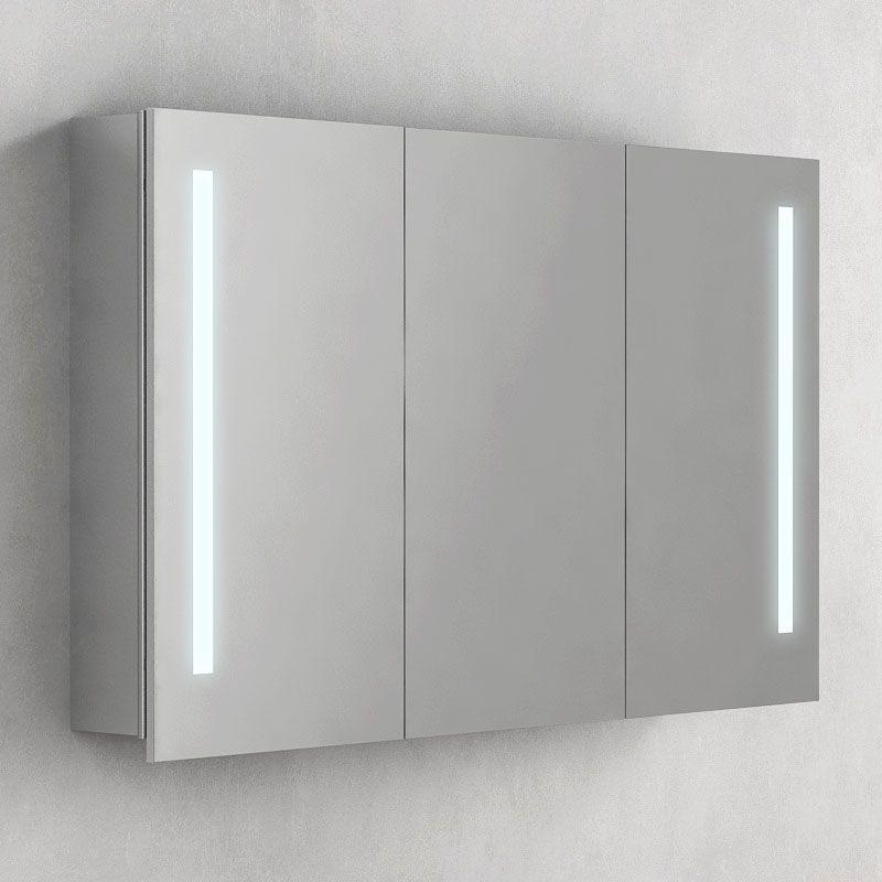 Bien choisir son miroir de salle de bain masalledebain - Miroir salle de bain lumineux avec prise de courant ...