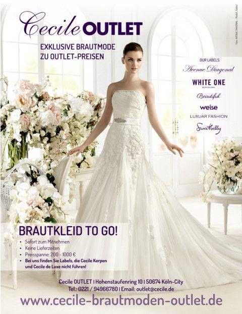 Cecile Brautmoden Outlet Koln Hochzeit Pinterest Brautkleider