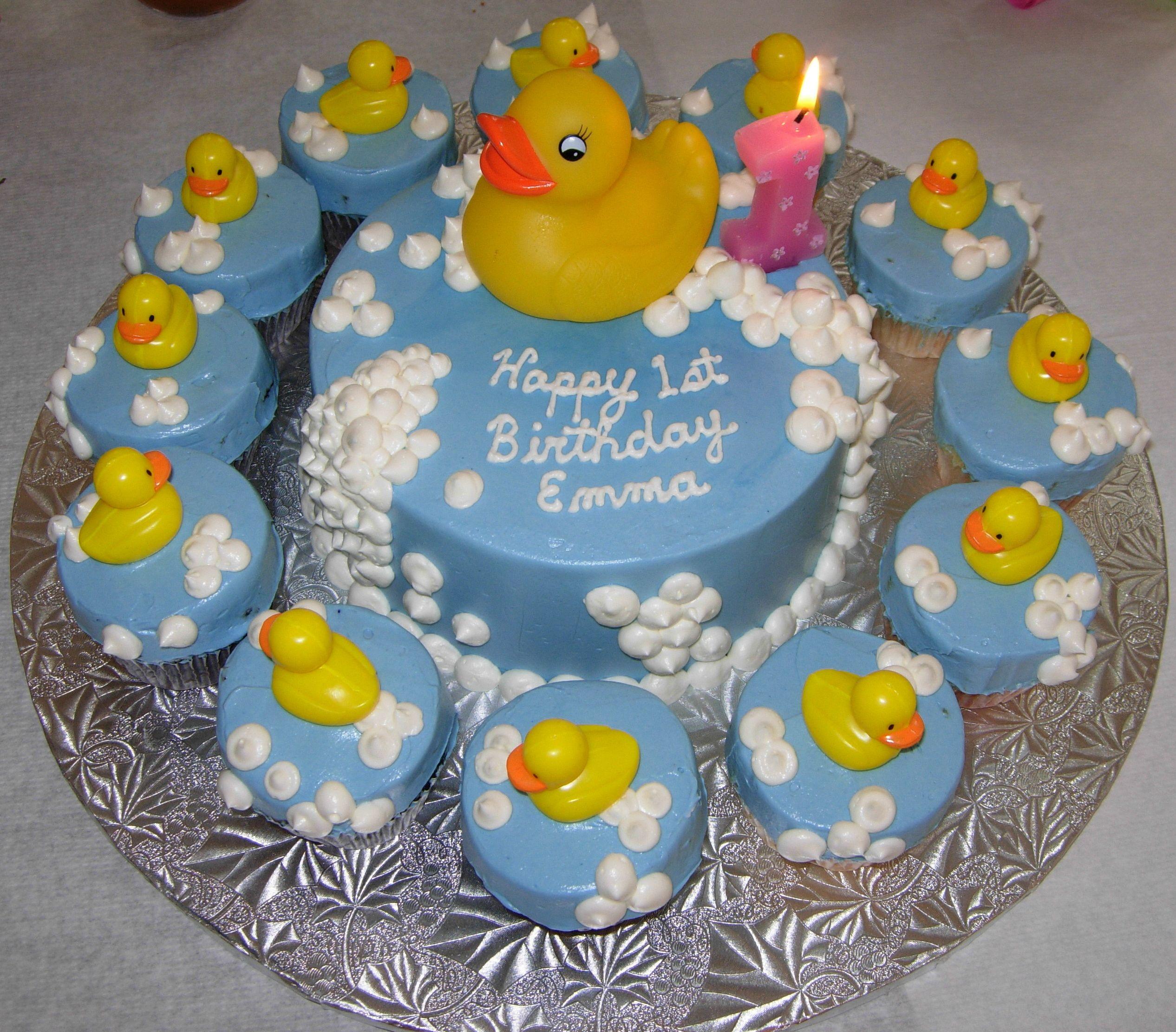 baby boy 1st birthday cupcake ideas For her first birthday we