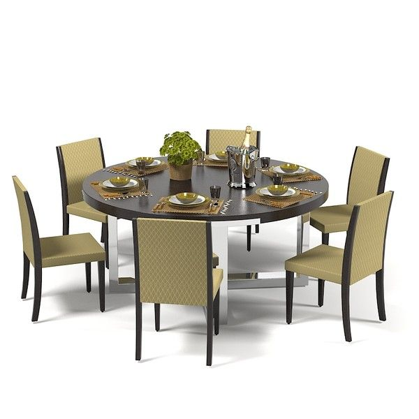 Dining Table Models 3d misuraemme dining table set model - misuraemme dining table set