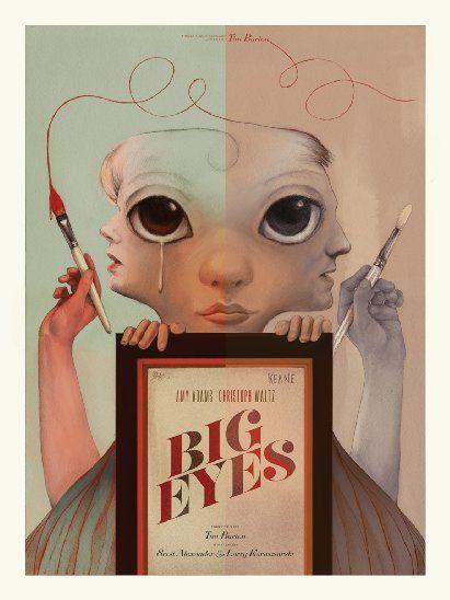 'Big Eyes' - Exclusive Artist-Created Posters - IMDb