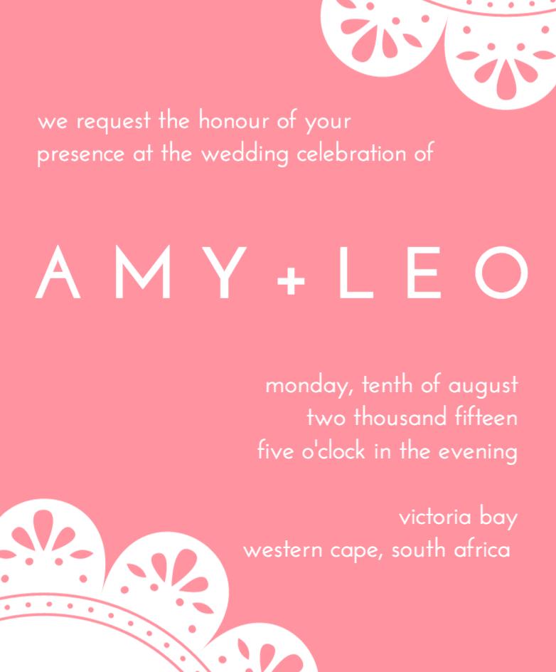 Design a beautiful custom wedding invitation canva wedding design a beautiful custom wedding invitation canva stopboris Gallery