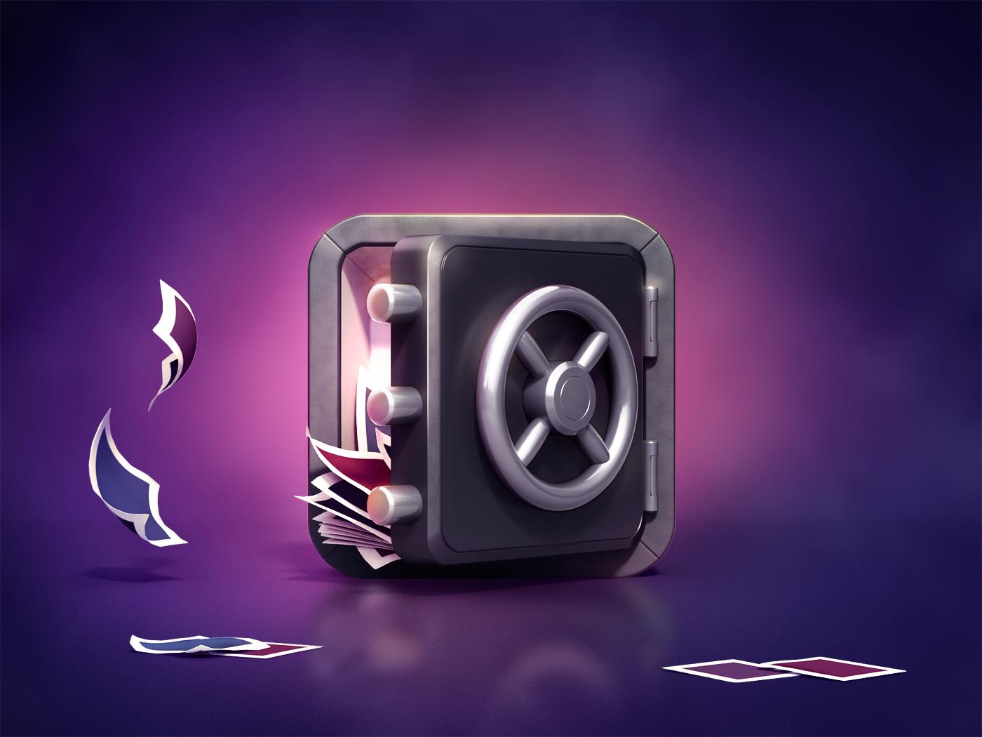 vault full icon App icon design, App icon, Icon design